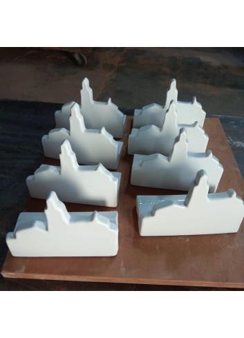 Iglesia Cadaqués de Cerámica de Sabotigueta