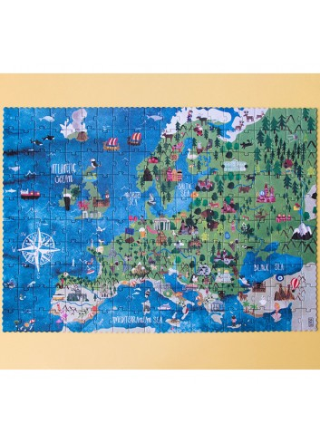 Puzle Discover Europe de Londji 1
