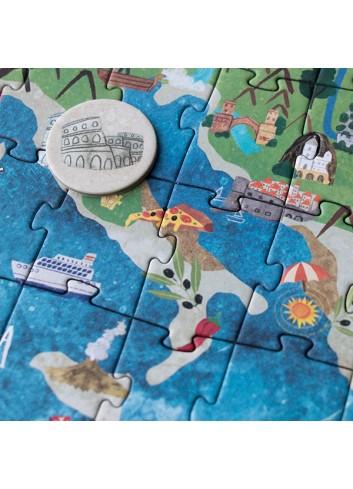 Puzle Discover Europe de Londji 2