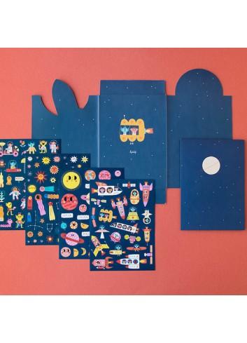 Stickers Space de Londji 1