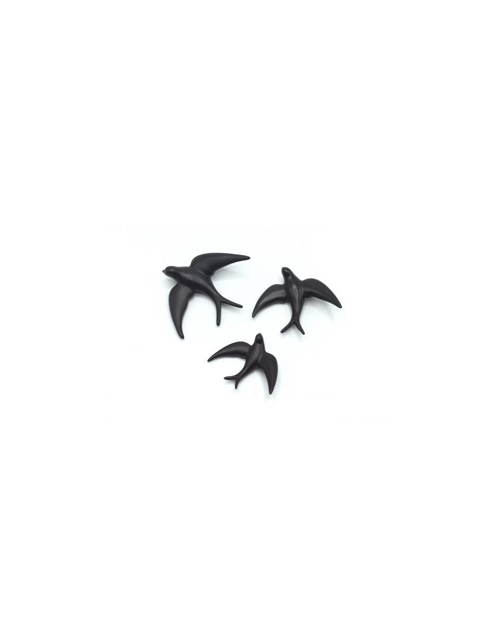 Golondrina negra mate grande