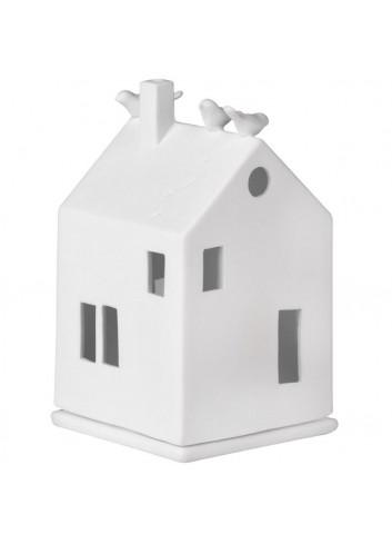 Casa pajarería de porcelana 4