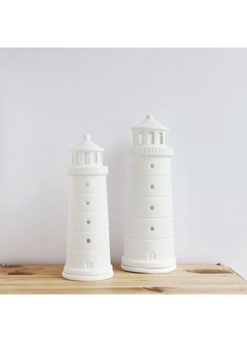 Faro de porcelana pequeño
