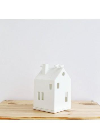 Casa pajarería de porcelana 2