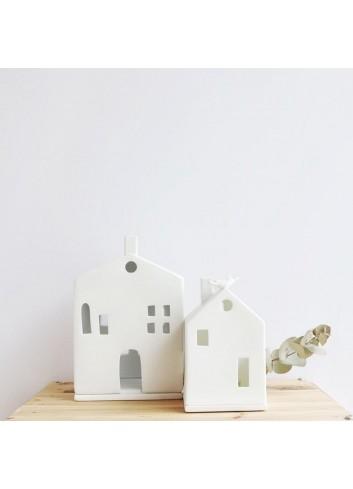 Casa pajarería de porcelana 3