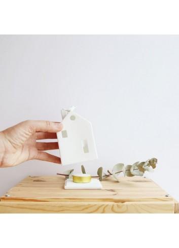 Casa ocelleria de porcellana