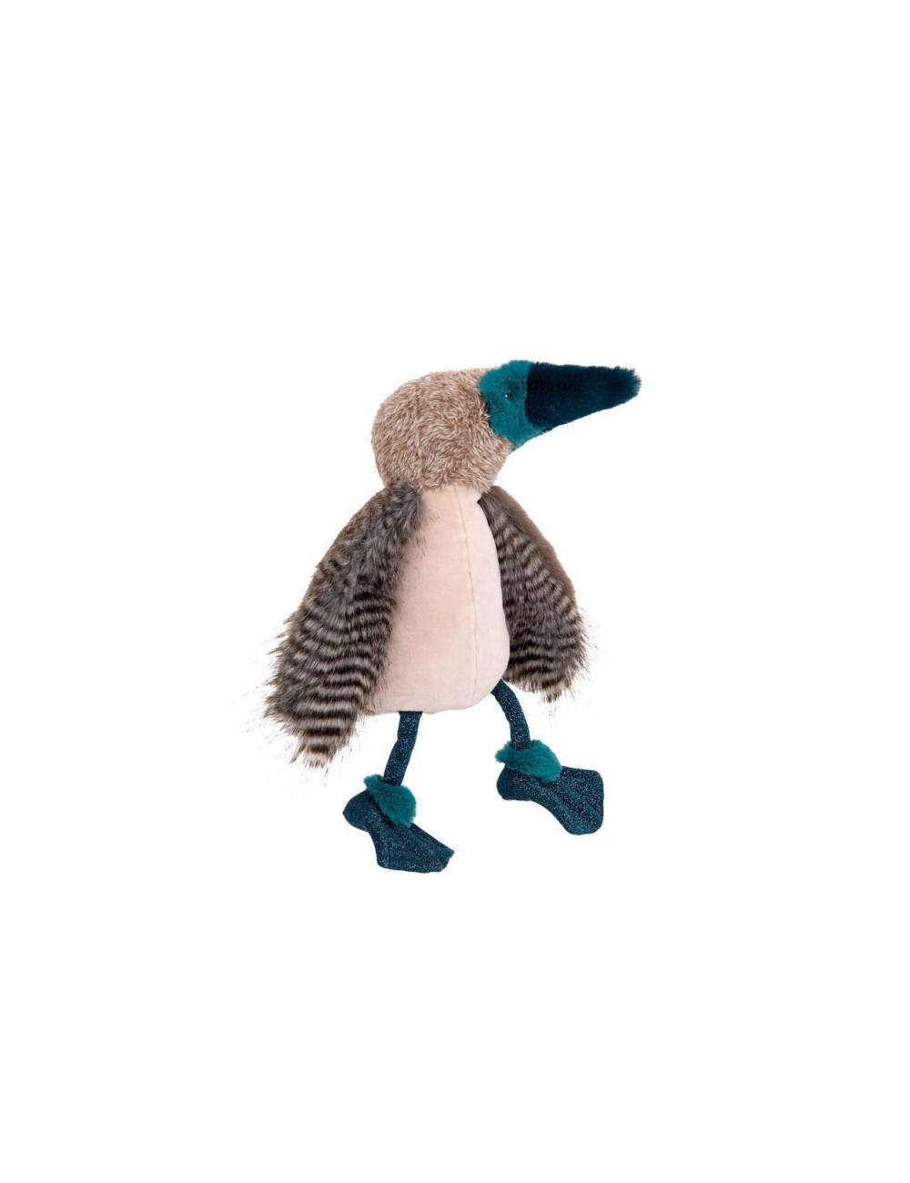 Pájaro piquero patiazul de Moulin Roty