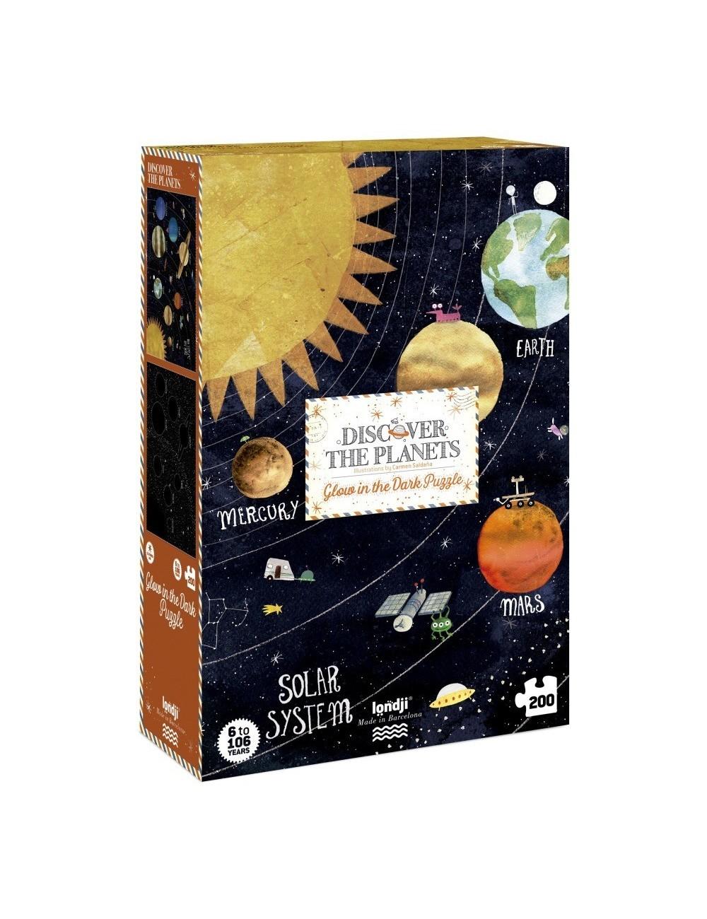 Puzzle Discover The planets de Londji
