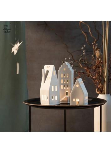 Casa de porcellana triangular petita