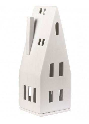 Casa de porcellana triangular gran