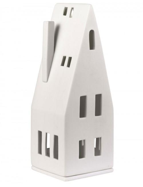Casa de porcelana triangular