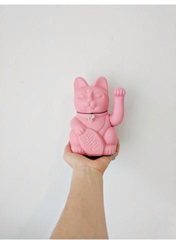 Maneki neko rosa chicle